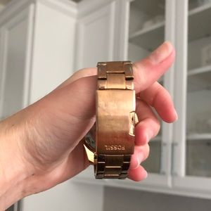Fossil Accessories - Gold Fossil Watch